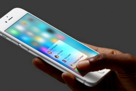 The iPhone 6S 3D Touch: A Touch of Class