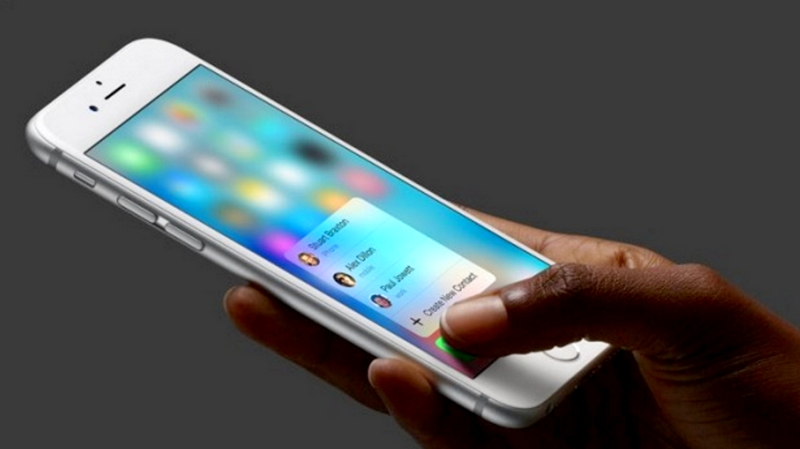 The iPhone 6S 3D Touch A Touch of Class