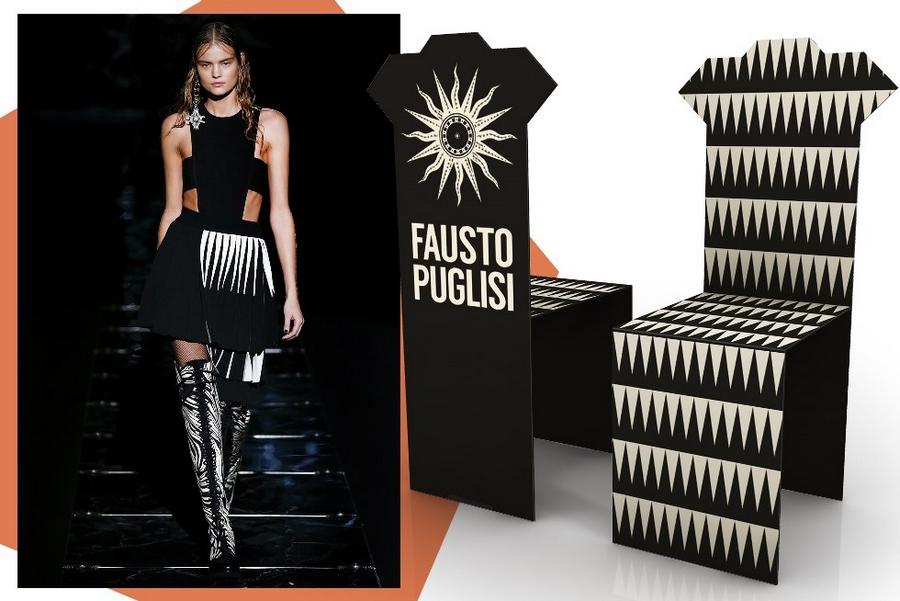 The iconic Salvador chair re-envisioned - Fausto Puglisi- Salone del Mobile 2015