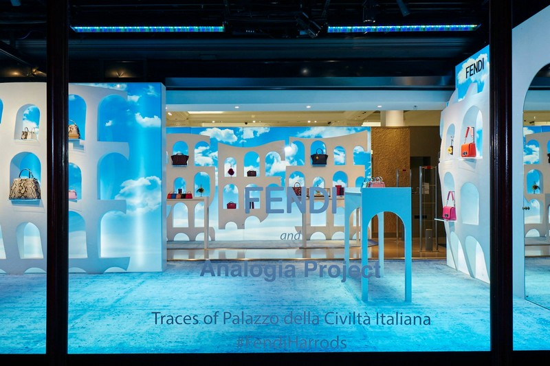 The new Fendi pop-up at Harrods  in London-2015