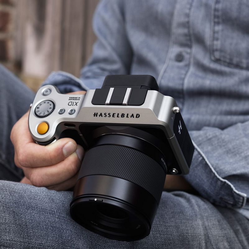 The new Hasselblad X1D