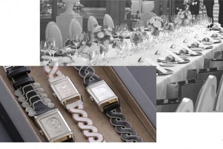 Jaeger-LeCoultre and Christian Louboutin Exclusive Couture straps