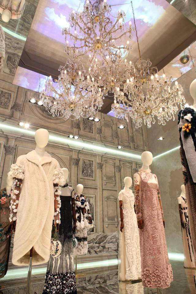 The new Legends and Fairy Tales collection is now on display at the magnificent Palazzo Dama in Rome-000