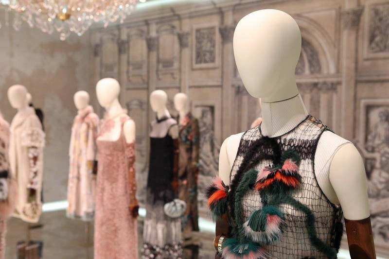 The new Legends and Fairy Tales collection is now on display at the magnificent Palazzo Dama in Rome