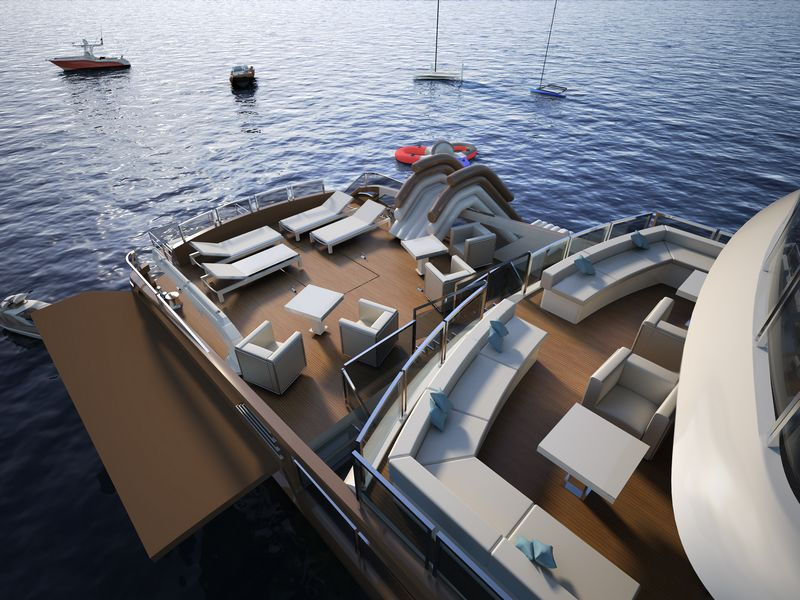 The new OCEANEMO 33 project debuts at the 2016 Cannes Yachting Festival-