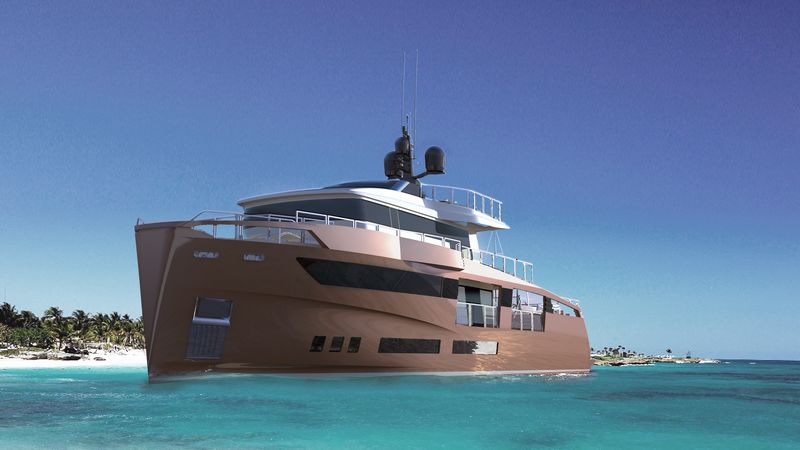 The new OCEANEMO 33 project debuts at the 2016 Cannes Yachting Festival2016-2luxury2-com