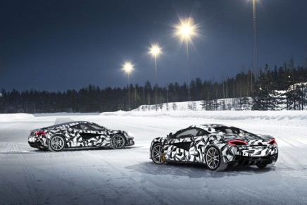 The only winter driving experience to feature the McLaren Sports Series