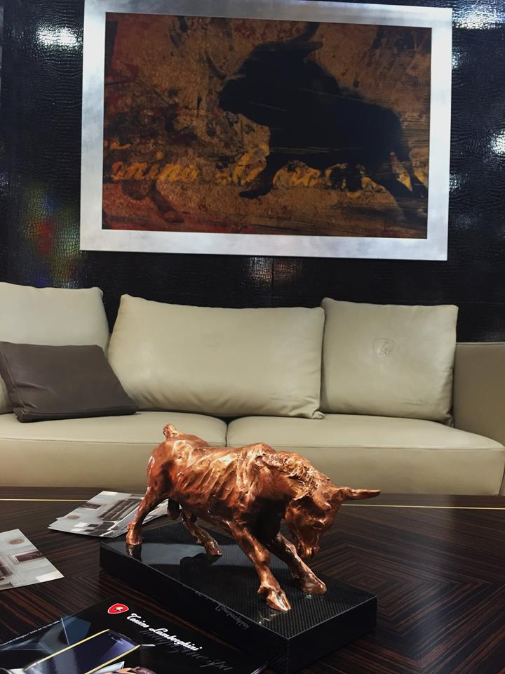 The power of the Bull at iSaloni in Milan.
