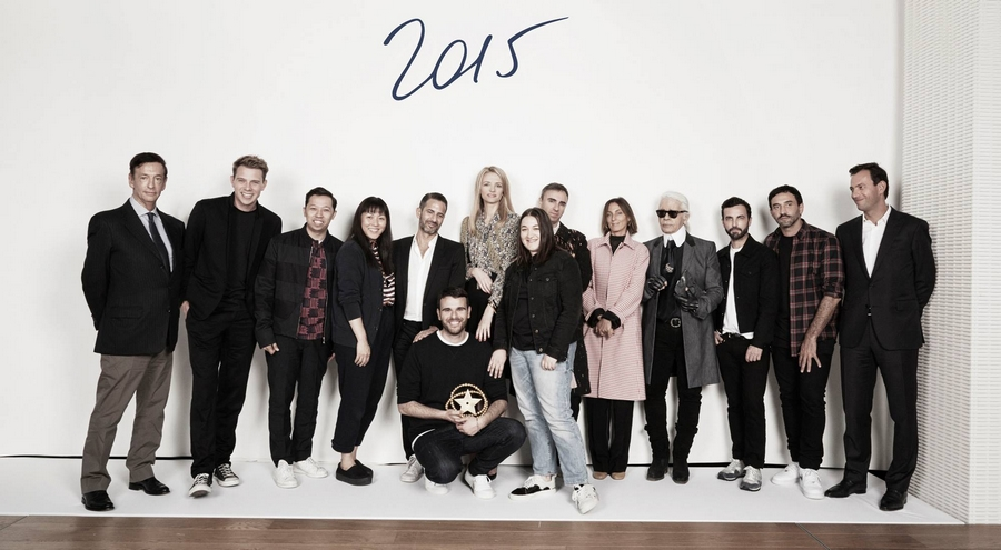 The second annual LVMH Prize for young fashion designers awarded to Marta Marques