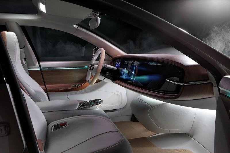 Thunder Power EV Electric Sedan-2015- interior