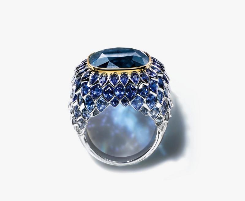 Tiffany BLUE TOURMALINE Ring
