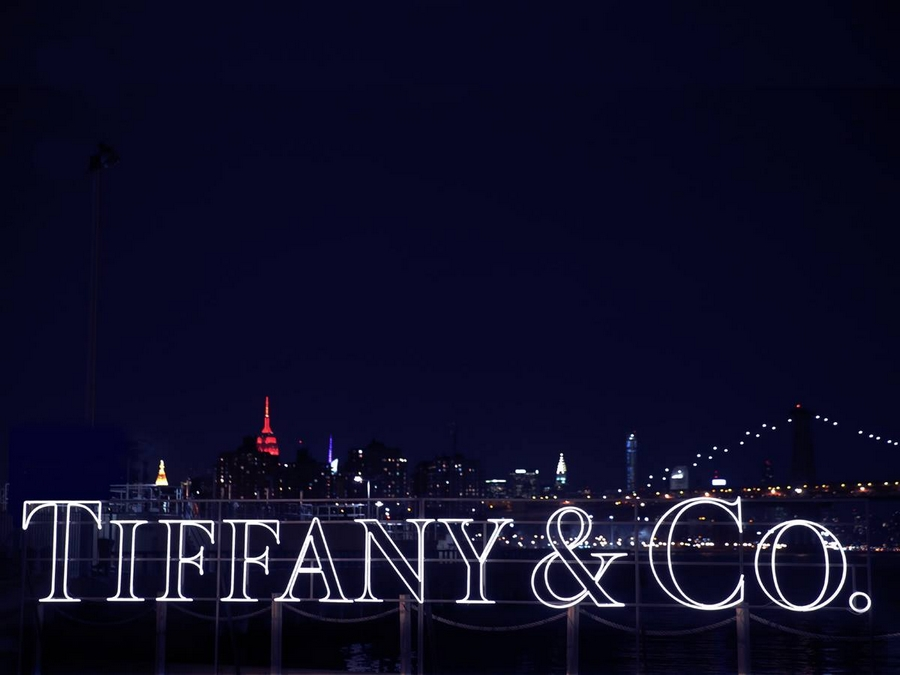 Tiffany lights shine bright at the Brooklyn Navy Yard