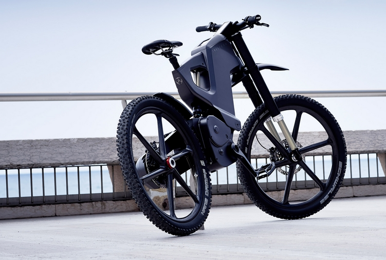 Trefecta High Tech E Bike With The Military In