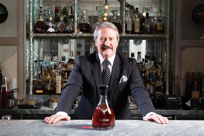 To mark Master Distiller Richard Paterson's 50th year in the whisky industry, The Dalmore 50 has been released