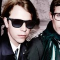 Tom Odell and Harry Treadaway showcase new Burberry Autumn Winter 2015 eyewear