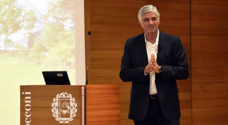 Toni Belloni at Boconi university Italy- LVMH announces LVMH Associate Professorship in Fashion and Luxury Management at Italy's top university
