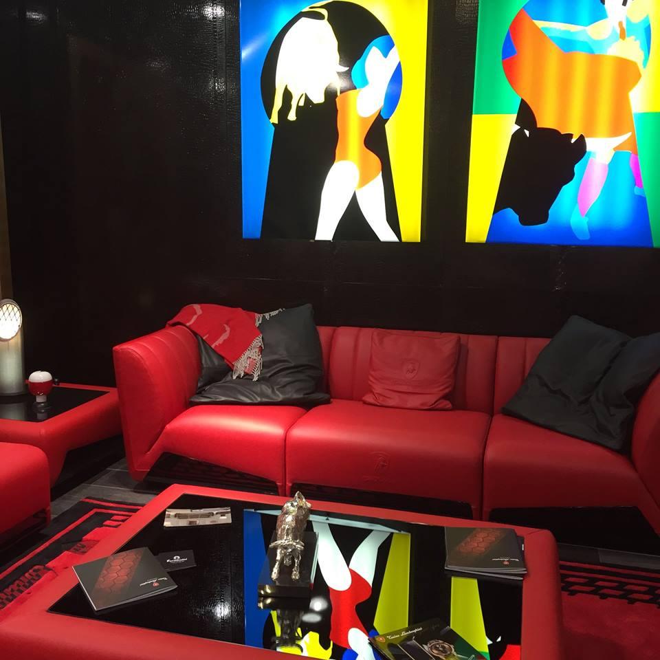 Tonino Lamborghini Casa collection 2015 - Salone del Mobile 2015