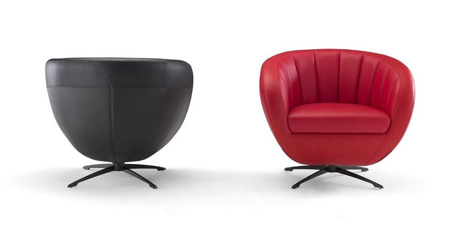 Tonino Lamborghini at iSaloni  - The new armchair Sepang