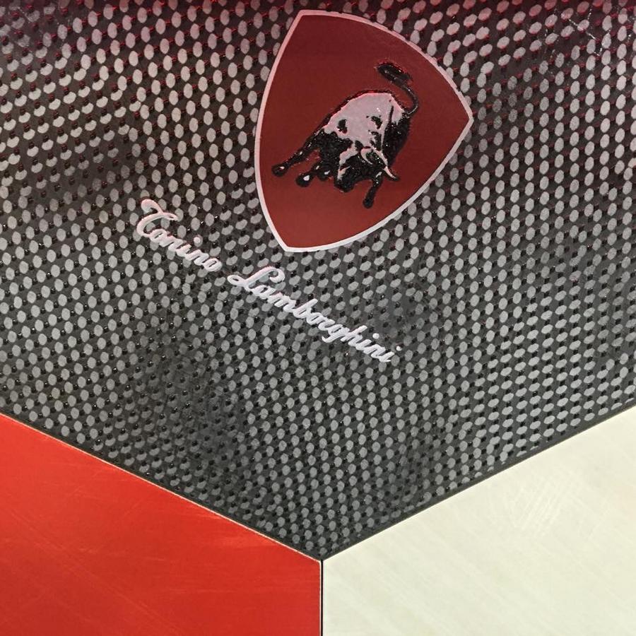 Tonino Lamborghini at iSaloni with Formitalia luxury furnishings and Gambarelli tiles in Milan