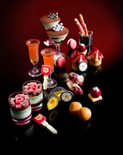 Tosca's tea and Ferrari Junior Collection_FinediningHongKong