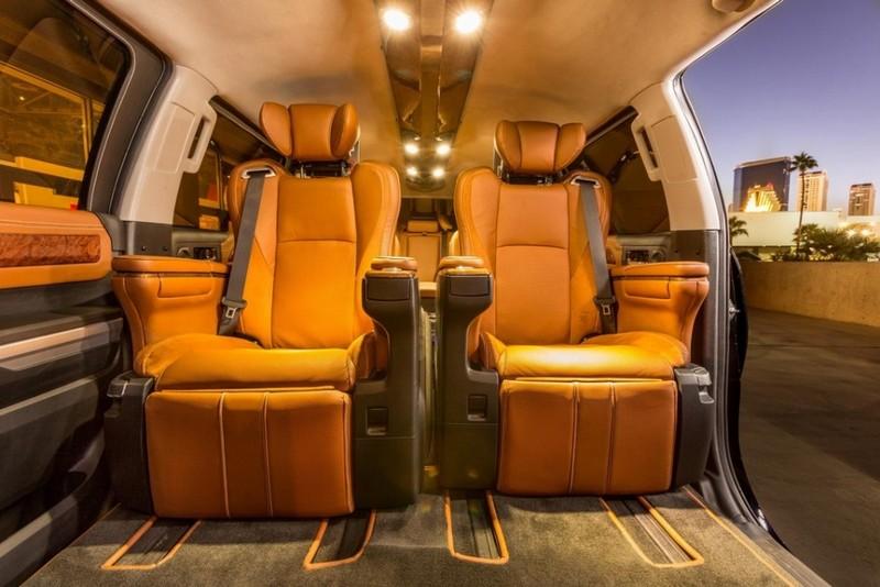 Toyota Tundrasine Concept Vehicle limo pickup 2015-