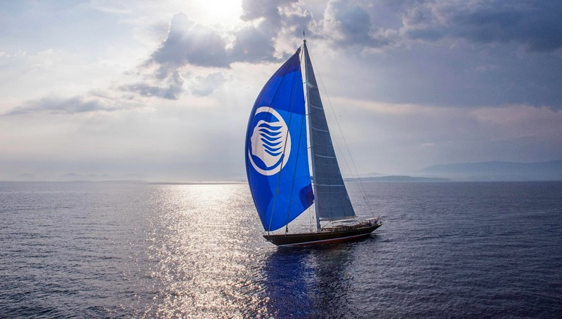 Truly Classic 127 Atalante won World Superyacht Award in the sailing Yachts 30m-39.9m category