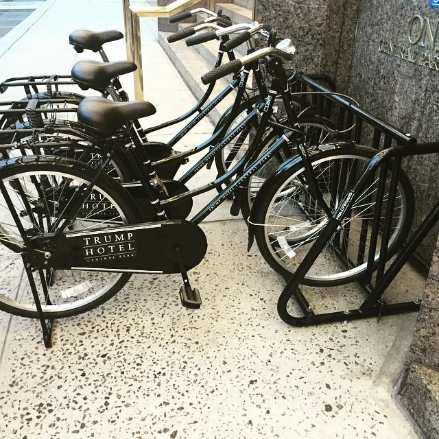 Trump Hotel Collection bicycles