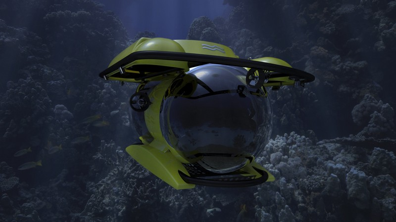 U-Boat Worx Unveiled New Deepest-diving Tourist Submarine-model