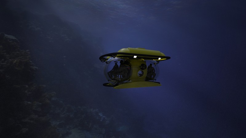 U-Boat Worx Unveiled New Deepest-diving Tourist Submarine