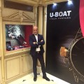 U-Boat watches at  Doha Jewellery and Watches Exhibition 2015-