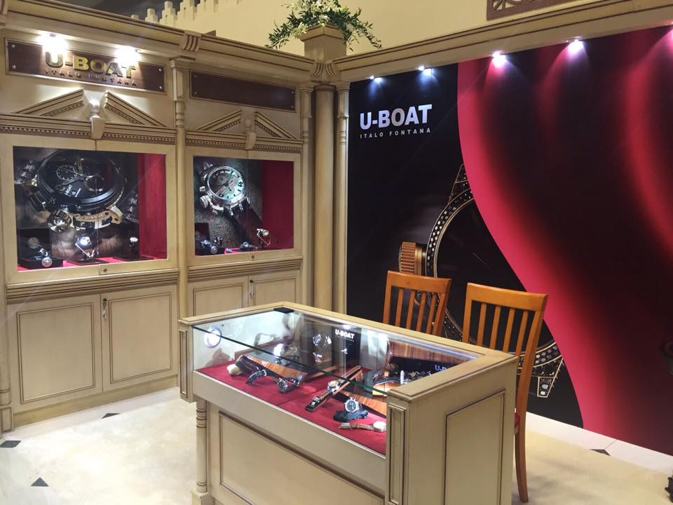 U-Boat watches at  Doha Jewellery and Watches Exhibition 2015-002