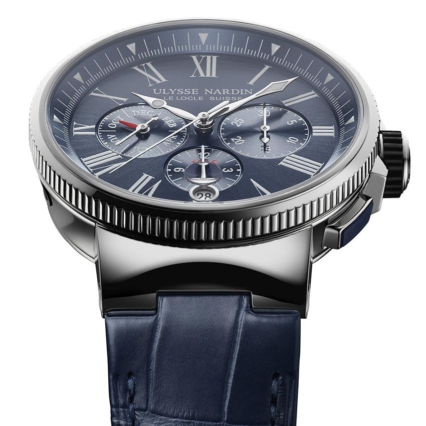 ULYSSE NARDIN Marine Chronograph Annual Calendar watch-