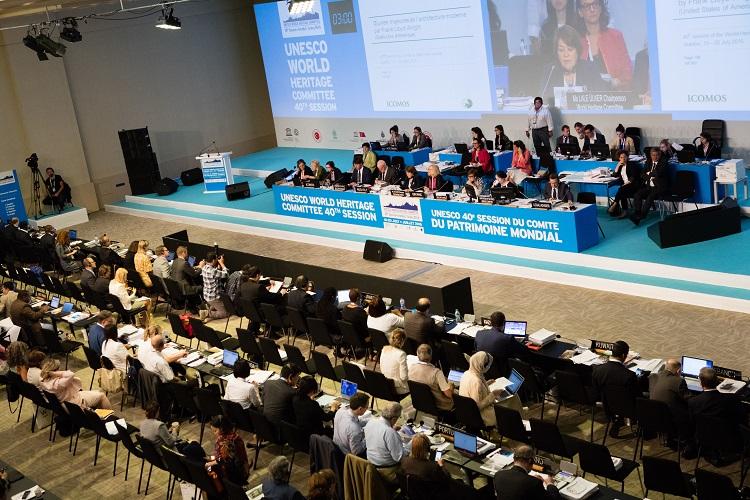 40e session du Comité du patrimoine mondial à Istanbul, 17 juillet 2016. Inscription