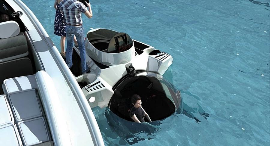 Uboat Super yacht Sub 3-2015