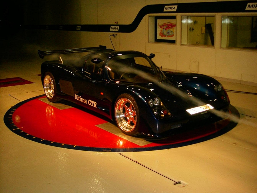 Ultima Sports cars - wind tunnel developed