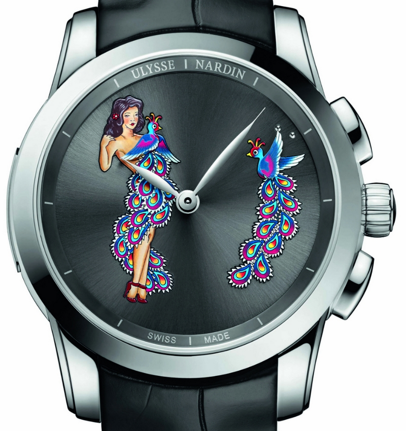Ulysee Nardin Hourstriker Pin-Up Watches