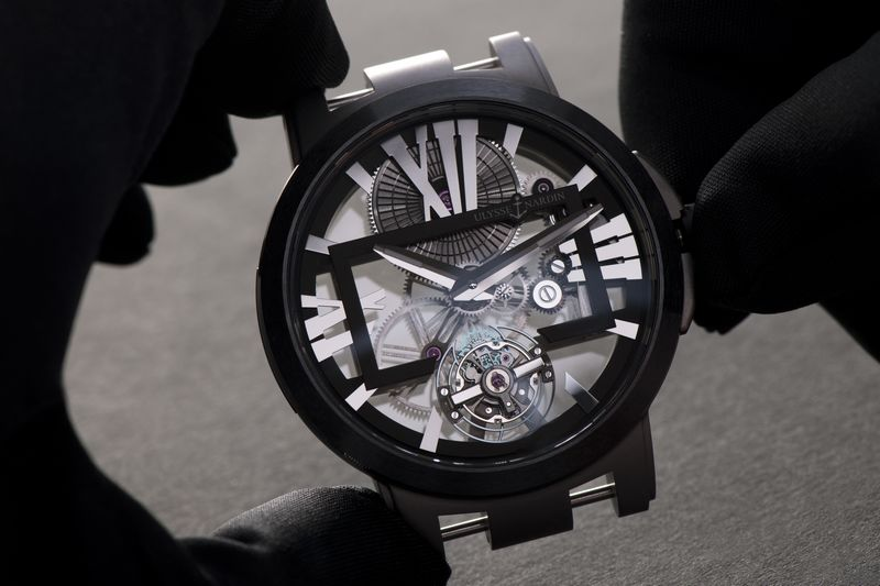Ulysee Nardin__Executive Skeleton_Tourbillon watch 2luxury2 com