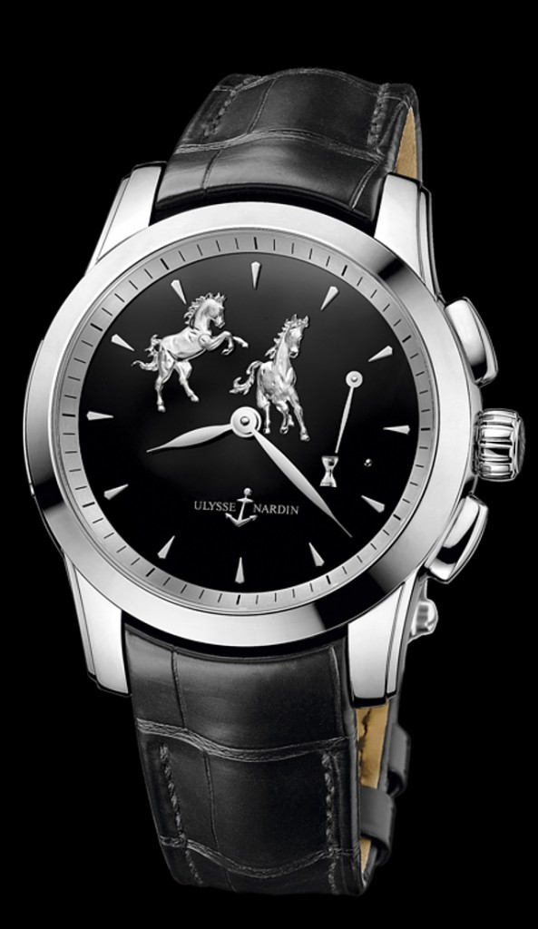 Ulysse Nardin Limited-edition Hourstriker Horse watch-