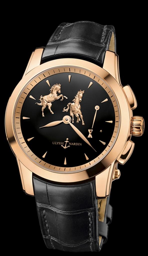 Ulysse Nardin Limited-edition Hourstriker Horse watch