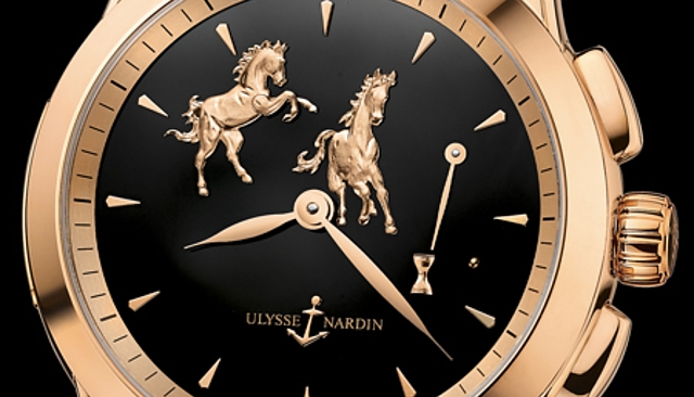 Ulysse Nardin Limited-edition Hourstriker Horse watch-details