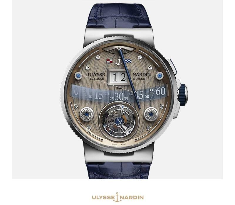 Ulyssee Nardin Marine Chronometer and Marine Grand Deck are once again causing waves in the world of Haute Horlogerie-