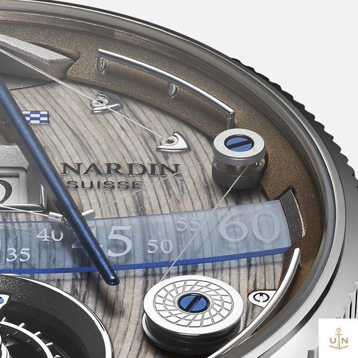 Ulyssee Nardin Marine Chronometer and Marine Grand Deck are once again causing waves in the world of Haute Horlogerie