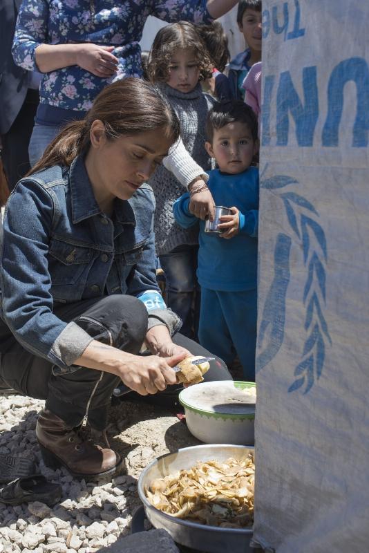 UNICEF Salma Hayek 3