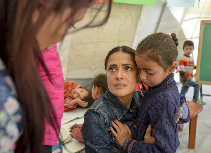 UNICEF Salma Hayek 4