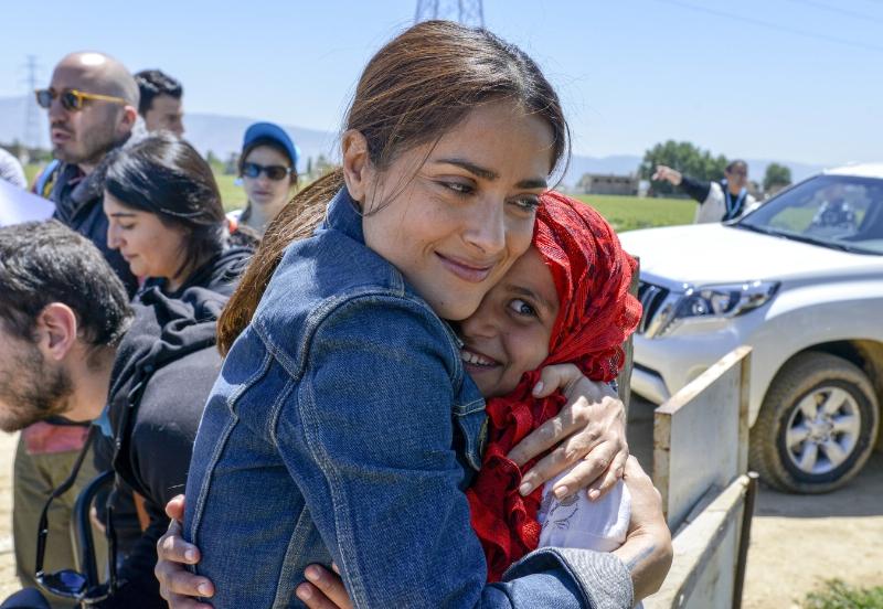 UNICEF Salma Hayek 6