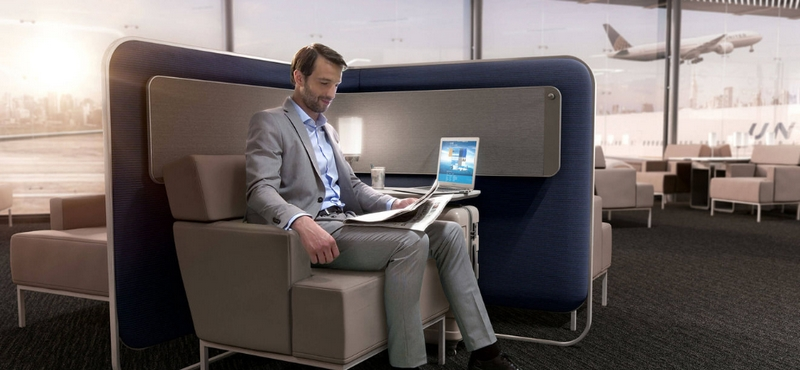 United Airlines' revamped its international business class cabin-exclusivity