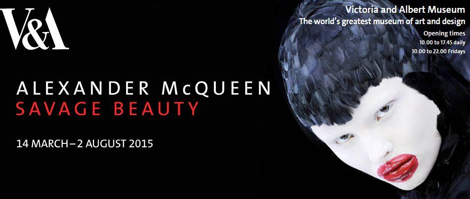 V&A Alexander Mc Queen Savage Beauty