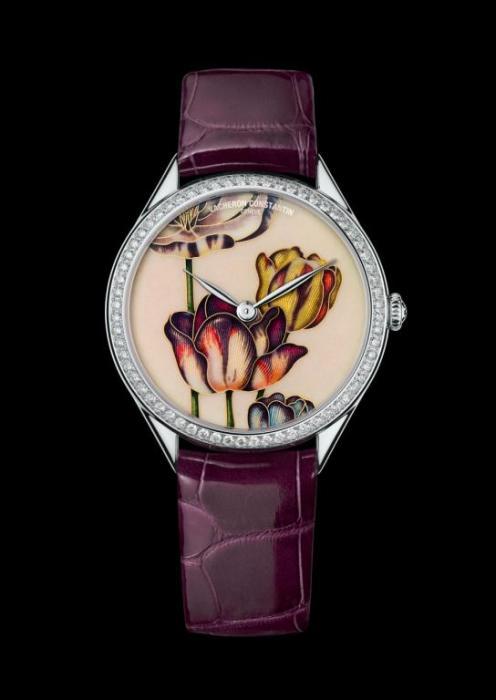Vacheron Constantin Métiers d'Art Florilège – Tulip Watch 2015--