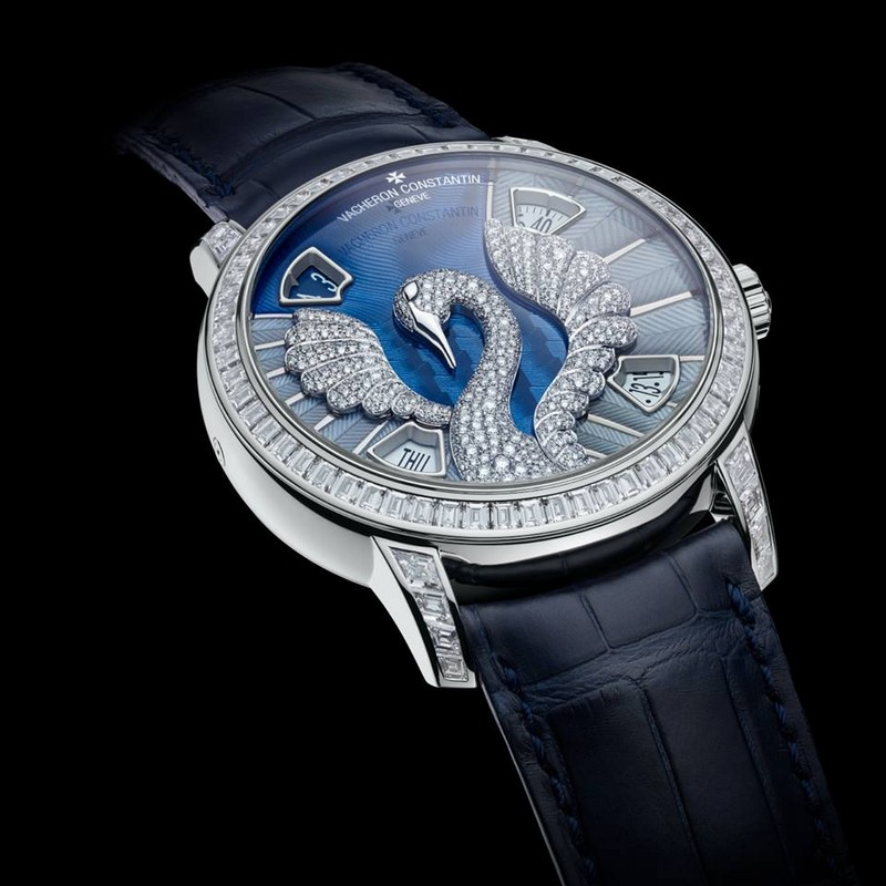 Vacheron Constantin Métiers d'Art Eloge de la nature Swan watch 2015-