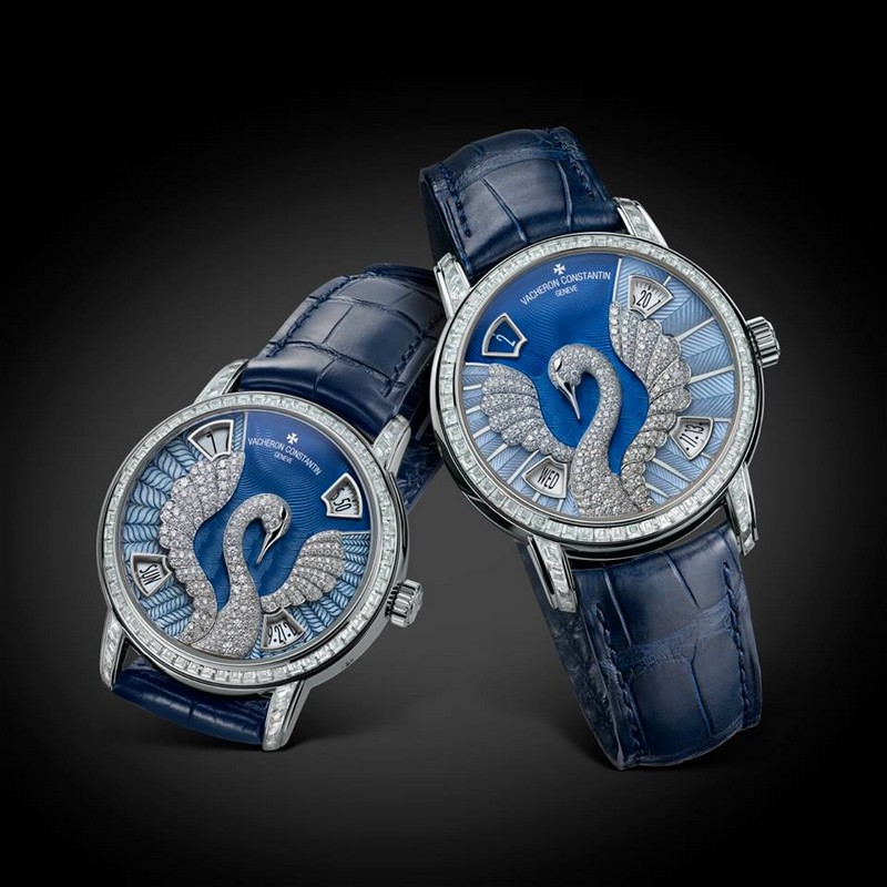 Vacheron Constantin Métiers d'Art Eloge de la nature Swan watch 2015---